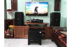 Lắp đặt dàn karaoke gia đình chị Thắm tại TP HCM (BIK BSP 412, BIK VM620A, BIK BPR-8500...)