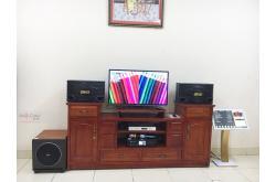 Lắp đặt dàn karaoke gia đình chị Thư tại Bắc Giang (BMB CSN 500SE, BKSound DKA6500, Paramax Sub30...)