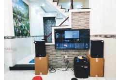 Lắp đặt dàn karaoke gia đình chị Tuyền tại TP HCM (RCF EMAX 3112, VM620A, BPR8500, TS312S, VIP3000)