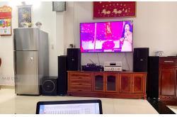 Lắp đặt dàn karaoke gia đình chị Vân tại TP HCM (BIK BSP 412, VM620A, BPR6000, Sub 1000New, BJ-U100)