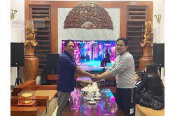 Lắp đặt dàn karaoke gia đình chú Minh tại Thanh Hóa (RCF EMAX 3112, VM840A, BPR-8500, TS315Sub...)