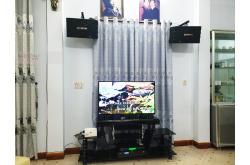 Lắp đặt dàn karaoke gia đình cô Vân tại Đà Nẵng (BIK BJ-S668, BkSound DP3600, BCE U900 Plus X)