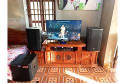 Lắp đặt dàn nghe nhạc cho anh Dũng tại Thanh Hóa (RCF CMAX 4112, VM1020A, KX180, TS312Sub...)