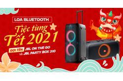 Loa bluetooth tiệc tùng cho Tết 2021: Gọi tên JBL On The Go và JBL PartyBox 310