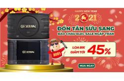 Loa hát karaoke BIK hạ giá tới 45% ngon thế này, mua nhanh đón Tết rực rỡ