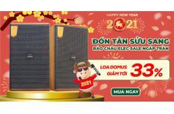 Tết đong đầy, săn sale khủng, Loa Domus DK 612 giảm sốc 33%, mua ngay !