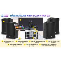 Dàn karaoke kinh doanh RCF 02