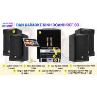 Dàn karaoke kinh doanh RCF 03