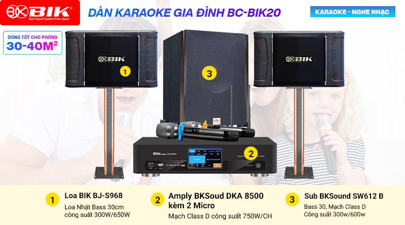 Dàn karaoke BIK 20