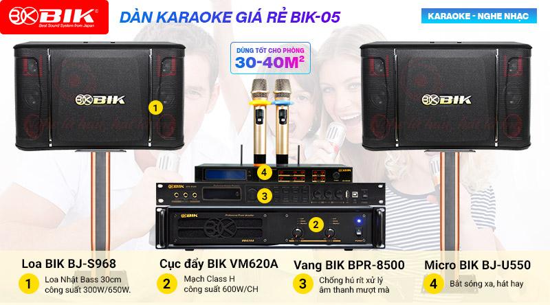 Loa karaoke BIK S968