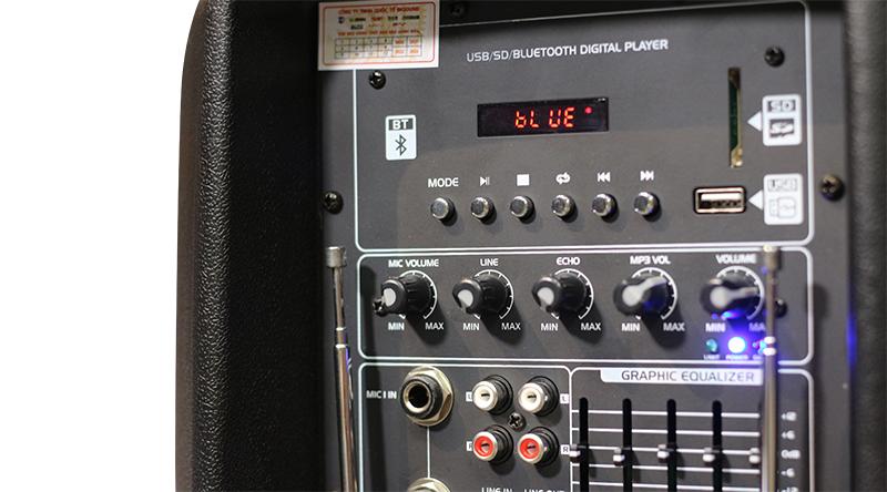 Loa kéo BKSound PEQ-15 DWB PA (bass 40)
