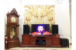 Lắp đặt dàn karaoke gia đình anh Bình tại Bắc Ninh (RCF EMAX 3112, VM840A, JBL KX180, BJ-W30, VM200)