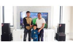 Lắp đặt dàn karaoke gia đình anh Bình tại Thanh Hóa (JBL MTS12, Famousound 7208, KX180, A120P, VM300)