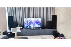 Lắp đặt dàn karaoke gia đình anh Bình tại TP HCM (RCF EMAX 3110, VM620A, KX180, A120P, BCE UGX12)