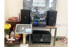 Lắp đặt dàn karaoke gia đình anh Châu tại Bình Dương (BIK BSP 412, VM840A, BPR8500, BJ-W66, BJ-U550...)