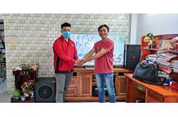 Lắp đặt dàn karaoke gia đình anh Cùng tại TP HCM (BIK BSP-410, VM420A, BPR6000, Sub 1000New, UGX12)
