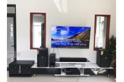 Lắp đặt dàn karaoke gia đình anh Cương tại Bắc Giang (JBL XS12, VM830A, BPR8500, BJ-W66, JBL VM300)