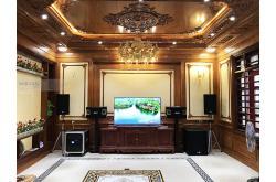 Lắp đặt dàn karaoke gia đình anh Đạo tại Bắc Ninh (RCF CMAX 4112, BMB 900SE, VM840A, VM820A, K9800...)