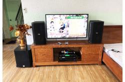 Lắp đặt dàn karaoke gia đình anh Duân tại Hưng Yên (BIK BSP 410, VM620A, BPR8500, SW612-B...)