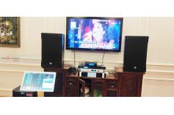 Lắp đặt dàn karaoke gia đình anh Hải Anh tại Hà Nội (RCF EMAX 3112, Famousound 7208, BPR8500, TS312Sub,...)