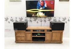 Lắp đặt dàn karaoke gia đình anh Hải tại Đồng Nai (JBL MK12, VM420A, DSP9000 Plus, NS-SW300, U900 Plus)