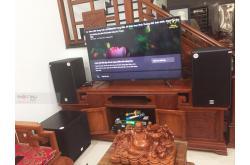 Lắp đặt dàn karaoke gia đình anh Hiếu tại Bắc Ninh (Alto AT2000, VM620A, DSP9000 Plus, SW715, UGX12)