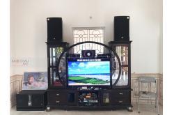 Lắp đặt dàn karaoke gia đình anh Hợp tại Bắc Giang (RCF EMAX 3112, TX800Q, X6 Luxury, BJ-W66, UGX12)