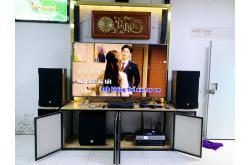 Lắp đặt dàn karaoke gia đình anh Hướng tại Hà Nội (RCF EMAX 3112, VM820A, AAP K9800, SW815, JBL VM300)