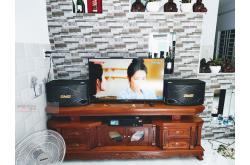 Lắp đặt dàn karaoke gia đình anh Khoa tại TP HCM (BMB CSN500SE, Lenovo K750)