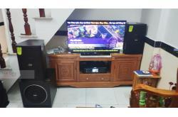 Lắp đặt dàn karaoke gia đình anh Lưu tại Bình Dương (Domus DP6100, BKSound DKA 6500, Sub 1000New)