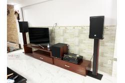 Lắp đặt dàn karaoke gia đình anh Phong tại TP HCM (RCF EMAX 3110, VM620A, BPR8500, A120P,...)