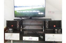 Lắp đặt dàn karaoke gia đình anh Phú tại TP HCM (JBL CV1652T, BKSound DKA 5500, BKSound SW312-B)