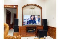 Lắp đặt dàn karaoke gia đình anh Phước tại Đồng Nai (RCF EMAX 3110, VM640A, BPR8500, SPL150,...)