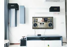 Lắp đặt dàn karaoke gia đình anh Phương tại TP HCM (BIK BJ-S886II, DP3600, NS-SW200, BCE U900)