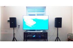 Lắp đặt dàn karaoke gia đình anh Quốc tại Ninh Bình (BIK BSP 410, VM420A, BPR8500, BIK BJ-U550)