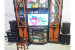 Lắp đặt dàn karaoke gia đình anh Thanh tại TP HCM (RCF EMAX 3110, VM620A, BPR6000, SW612B,...)
