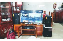 Lắp đặt dàn karaoke gia đình anh Thảo tại TP HCM (JBL KPS2, BKSound DKA8500, BKSound SW612-B)