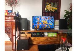 Lắp đặt dàn karaoke gia đình anh Thiểm tại Bắc Giang (Alto AT1000, VM420A, BKSound KX6, SW312C, U900Plus X)