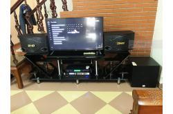 Lắp đặt dàn karaoke gia đình anh Thiệu tại Hà Nội (BMB CSN 500SE, VM620A, X6 Luxury, SW312B, U900 Plus X)