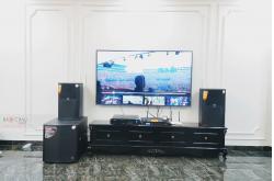 Lắp đặt dàn karaoke gia đình anh Thọ tại TP HCM (JBL XS12, VM830A, BPR8500, BCE VIP3000...)
