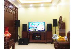 Lắp đặt dàn karaoke gia đình anh Thuyết tại Bắc Ninh (BIK BSP412, TX800Q, VM420A, X6 Luxury, BJ-W66 Plus...)
