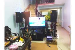 Lắp đặt dàn karaoke gia đình anh Tráng tại Bắc Ninh (JBL XS15, Famousound 7208, AAP K9800 New, BJ-W88, VM200)