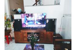 Lắp đặt dàn karaoke gia đình anh Trường tại Bình Dương (JBL MTS12, VM620A, DPS9000 Plus, SW312-C,...)