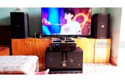 Lắp đặt dàn karaoke gia đình anh Trường tại Thanh Hóa (BIK BSP412, VM630A, BPR8500, BJ-W66, BBS B900)