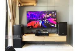 Lắp đặt dàn karaoke gia đình chị Hà tại Hà Nội (RCF EMAX 3110, VM620A, X6 Luxury, R100SW, BCE UGX12)