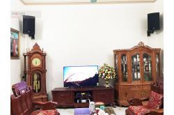 Lắp đặt dàn karaoke gia đình chị Hạnh tại Bắc Giang (RCF EMAX 3112, Famousound 7208, KX180, TS312Sub...)