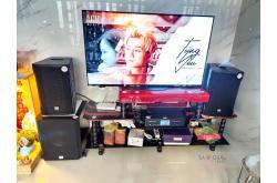 Lắp đặt dàn karaoke gia đình chị Thanh tại TP HCM (RCF CMAX 4110, BKSound DKA8500, BKSound SW612B)
