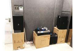 Lắp đặt dàn karaoke gia đình chị Trang tại TP HCM (JBL KP4010, VM620A, AAP K9800, JBL A100, JBL VM200)