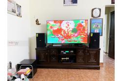 Lắp đặt dàn karaoke gia đình chú Đào tại Hà Nội (Domus DP6100, VM420A, X5 Plus, SW312-B, BCE UGX12)