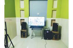 Lắp đặt dàn karaoke gia đình cô Hiền tại Bình Phước (RCF EMAX 3110, BKSound DKA8500, SW512-B)